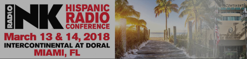 Hispanic Radio Conference March 13 & 14 in Miami
